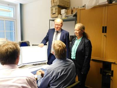 Hilbers-Besuch in Oldenburg  -
